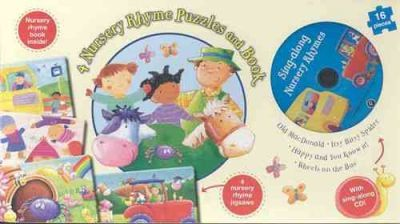 4 Nursery Rhyme Puzzles and Book