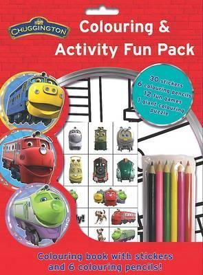 Chuggington Colouring and Activity Fun Bag