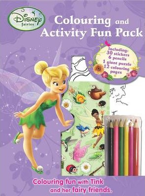 Disney Fairies Colouring and Activity Fun Bag