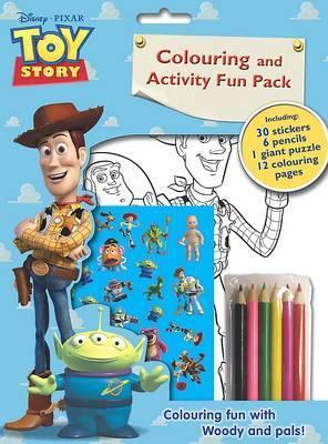 Disney Toy Story Colouring and Activity Fun Bag