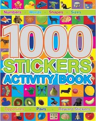 1000 Stickers Activity Book