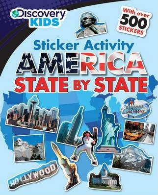 Discovery Bumper Sticker - America State by State