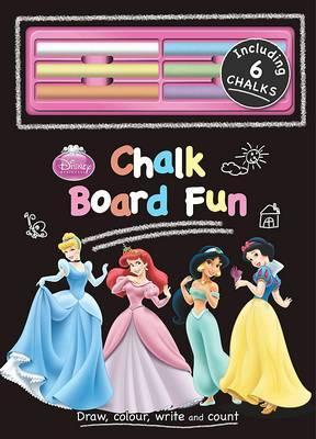 Disney Princess Chalk Board Book