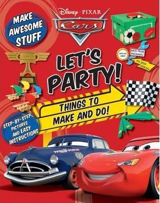 Cars Craft Book - Let's Party