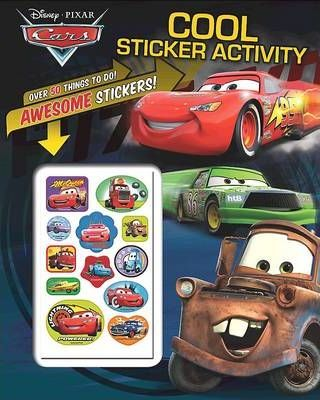 Disney Cars - Cool Sticker Activity