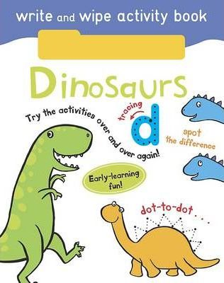 Write and Wipe Activity - Dinosaurs