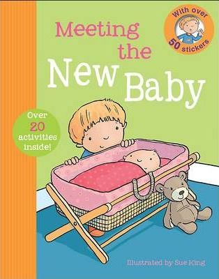 First Experience Sticker Book - New Baby