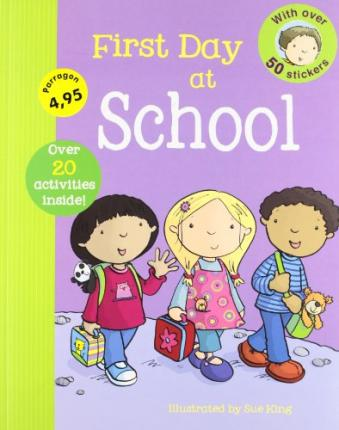 First Experience Sticker Book - Pre-School