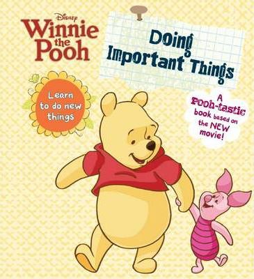 Winnie the Pooh - Doing Important Things