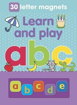 Magnetic Playbook Learn and Play ABC