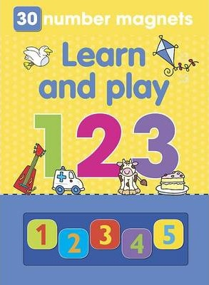 Magnetic Playbook Learn and Play 123