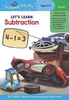 Let's Learn Subtraction (Cars) (Age 5)