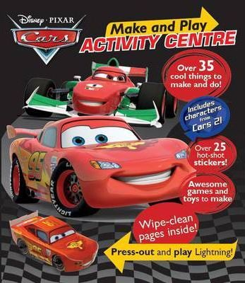 Cars Make and Play Activity Centre