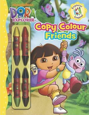 Dora Copy Colour Friends