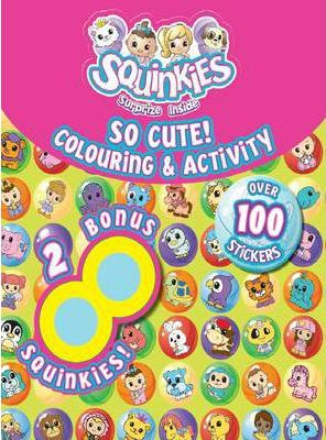 So Cute Colouring and Activity