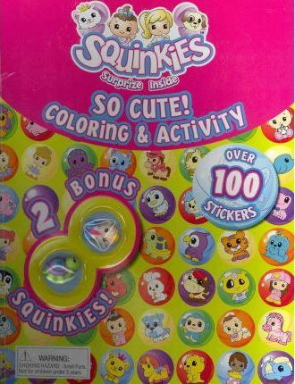 Squinkies So Cute! Coloring & Activity