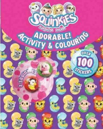 Squinkies Adorable Activity & Colouring