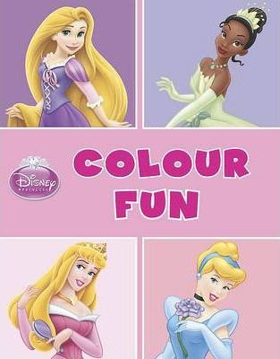 Disney Princess Colour Fun