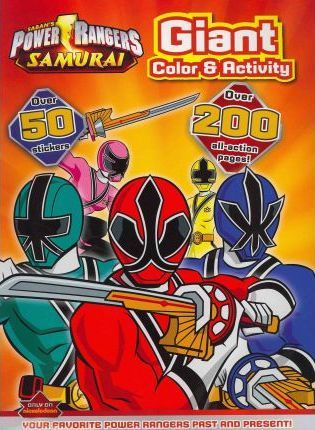 Power Rangers Giant Coloring