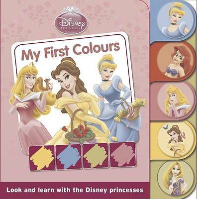 Disney Tabbed Board: Princess - My First Colours