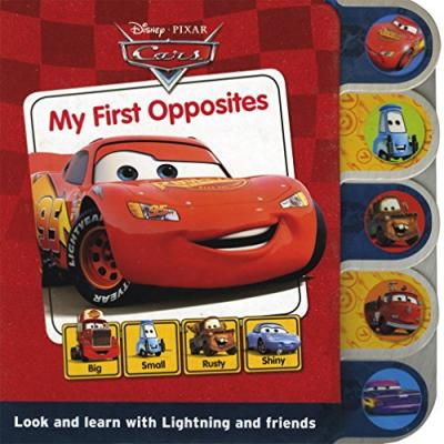 Disney Tabbed Board: Cars - My First Opposites