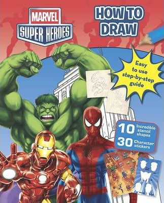 Marvel Super Heroes How to Draw