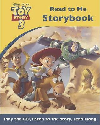 Disney Toy Story 3 Read to Me Book & CD