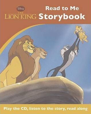 Disney Lion King Read to Me Book & CD