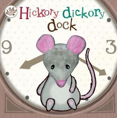 Little Learners Hickory Dickory Dock Finger Puppet Book