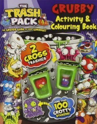 Trash Pack Grubby Activity Colouring Boo