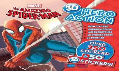The Amazing Spiderman 3d Hero Action Book