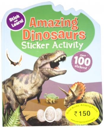 Sticker Activity Books - Amazing Dinosaurs
