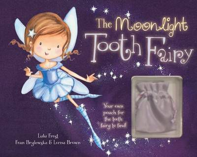 The Moonlight Tooth Fairy Story Book with Charm