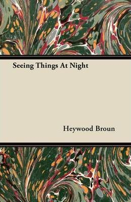 Seeing Things At Night Cover Image