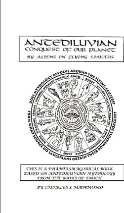 Antediluvian Conquest of Our Planet by Aliens in Flying Saucers Cover Image