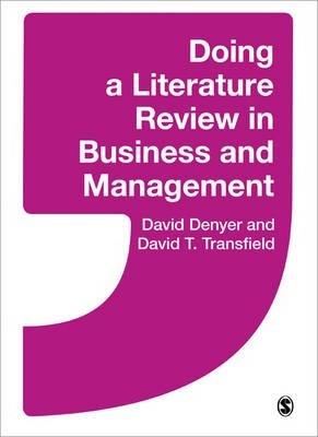 literature review in business management