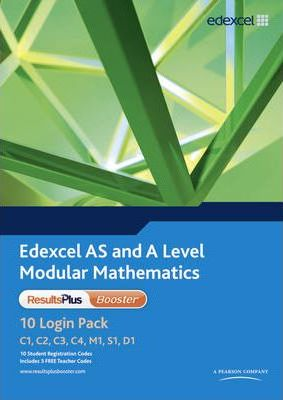 Edexcel AS and A Level Modular Mathematics Results Plus Booster 10 Login Pack