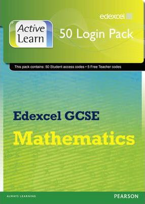 Edexcel GCSE Mathematics ActiveLearn: 50 User Licence Pack