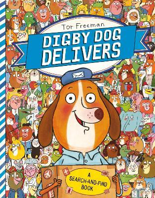 Digby Dog Delivers: A Search-and-Find Story