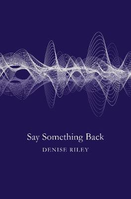Say Something Back