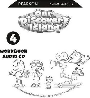 Our Discovery Island American Edition Audio CD for Workbook 4