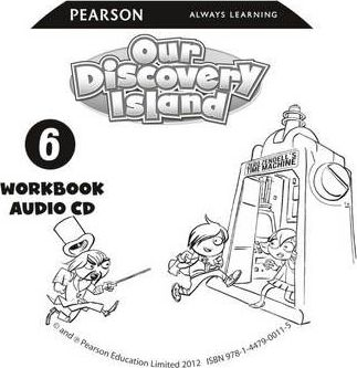 Our Discovery Island American Edition Audio CD for Workbook 6