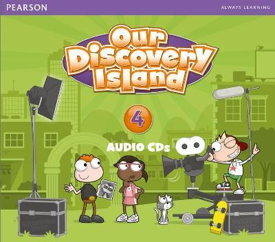 Our Discovery Island American Edition Audio CD4