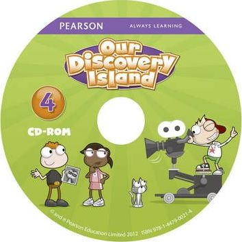 Our Discovery Island American Edition CD-rom for Student's Book 4