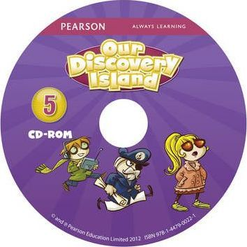 Our Discovery Island American Edition CD-rom for Student's Book 5