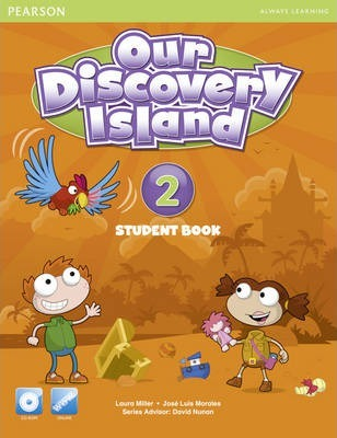 Our Discovery Island American Edition Students Book 2 plus pin code for Pack