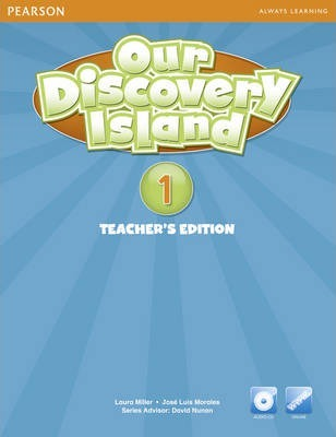 Our Discovery Island American Edition Teachers Book 1 plus pin code for Pack