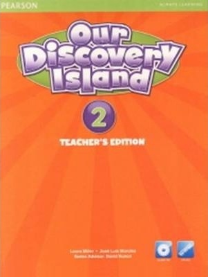 Our Discovery Island American Edition Teachers Book 2 plus pin code for Pack