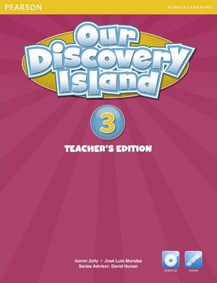 Our Discovery Island American Edition Teachers Book 3 plus pin code for pack