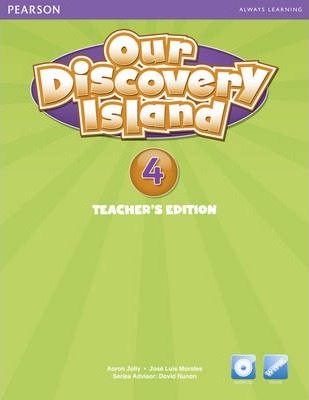 Our Discovery Island American Edition Teachers Book 4 plus pin code for Pack